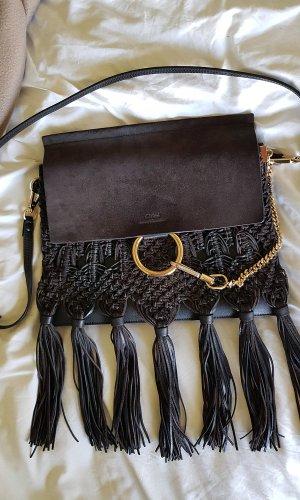 Chloé Fringed Bag black-anthracite