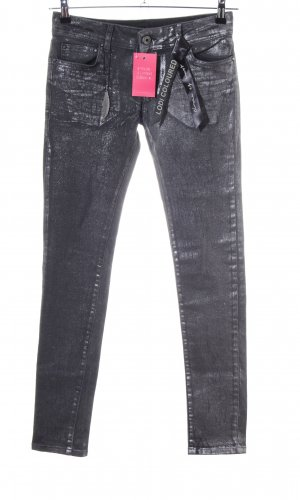 Circle of Trust Skinny Jeans silberfarben Casual-Look