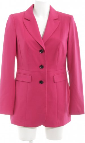 Class Long-Blazer pink Business-Look
