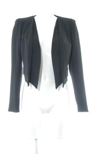 Closet Kurz-Blazer schwarz schlichter Stil