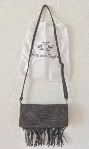 Fritzi aus preußen Fringed Bag multicolored imitation leather