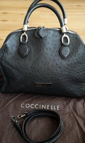 Coccinelle Hobo Handtasche Leder schwarz