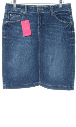 Colac Collection Spijkerrok blauw casual uitstraling