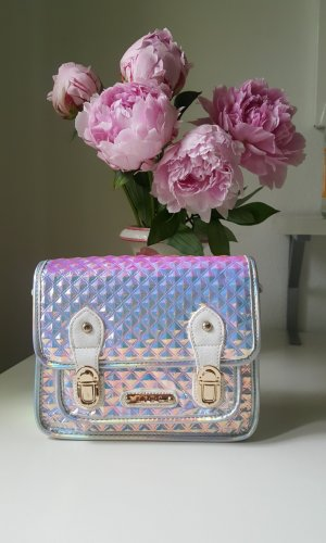 Topshop College Bag multicolored synthetic material