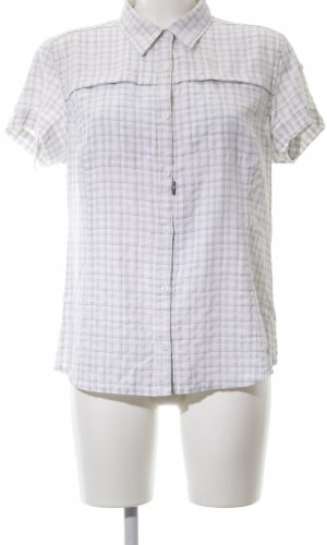 Columbia Short Sleeve Shirt white-light grey allover print business style