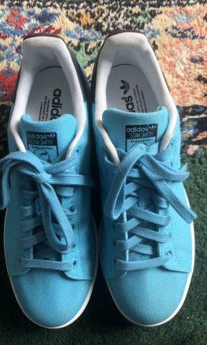 Coole blau/türkise Stan Smith Schuhe Damen Adidas Größe 40