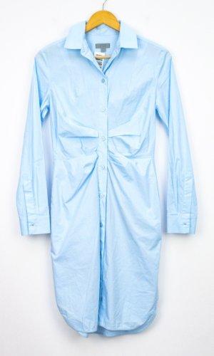COS Robe chemise bleu