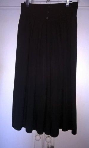 Jupes-culottes noir viscose