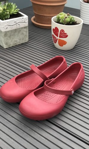 Crocs Escarpins Mary Jane rouge
