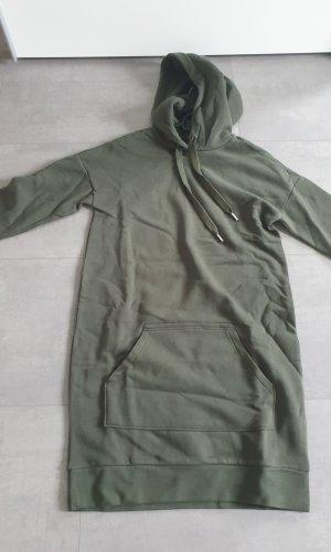 H&M Sweaterjurk olijfgroen