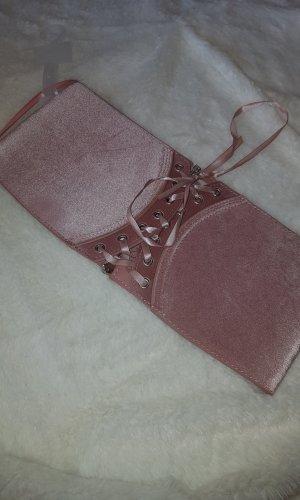 Cinturón de cadena rosa Licra