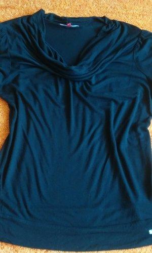 Wissmach Waterval shirt zwart Viscose