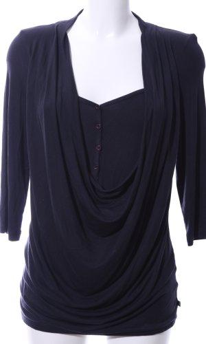 Dept Waterval shirt zwart zakelijke stijl
