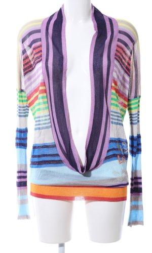 Desigual Waterval shirt gestreept patroon extravagante stijl