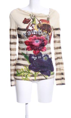Desigual Waterval shirt bloemenprint casual uitstraling