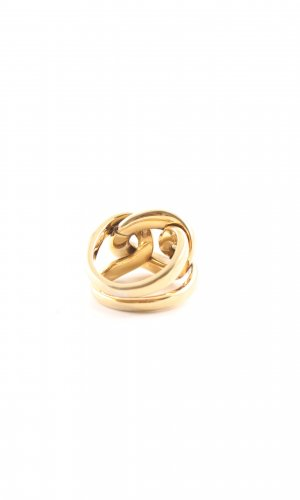 DKNY Statementring goldfarben Elegant