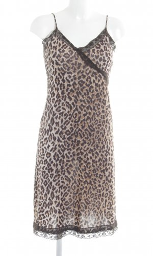 Dolce & Gabbana Cocktailkleid Leomuster Elegant
