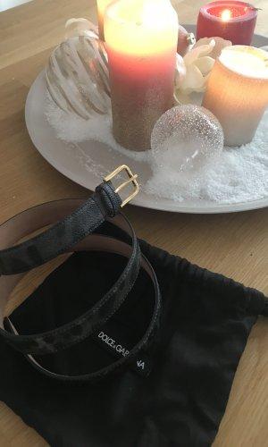 Dolce & Gabbana Gürtel Leooptik