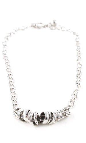 Dolce & Gabbana Collar color plata look casual