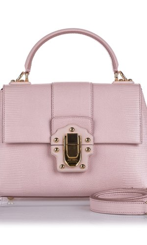 Dolce&Gabbana Leather Lucia Satchel