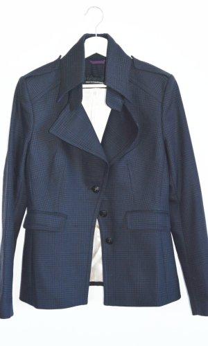 DRYKORN CORBY Jacke Jacket kariert Check Karo Navy Gr. 38 3