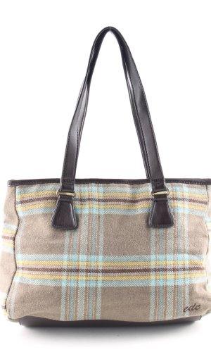 edc Handbag check pattern casual look