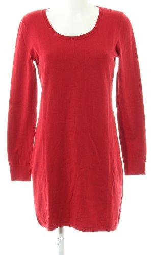 edc Sweaterjurk rood elegant