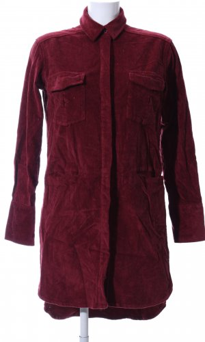 Edited Robe chemise rouge style décontracté