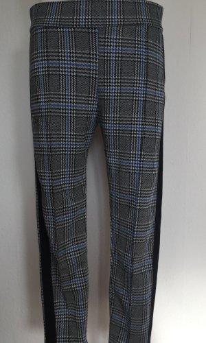 Amisu Pantalón elástico azul oscuro-negro Poliéster