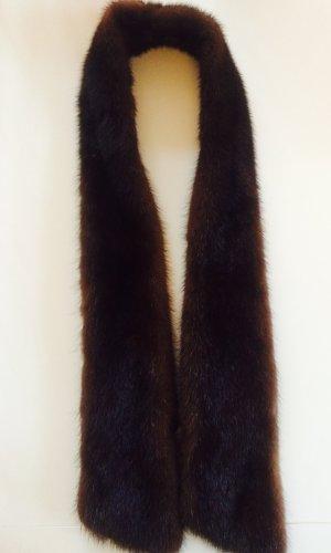 Stola zwart bruin-donkerbruin