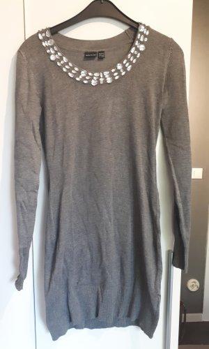 Bodyflirt Sweaterjurk grijs