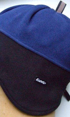 Eisbär Stoffen muts blauw-zwart