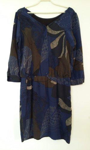 Quiksilver Robe chemise bleu-brun