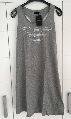 Emporio Armani Vestido para casa gris-color plata
