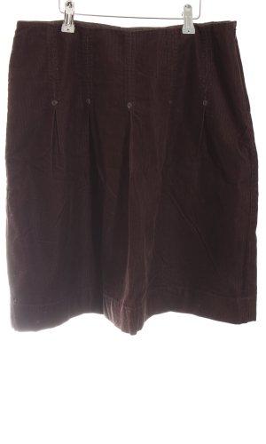 esprit collection Jupe à plis brun style décontracté