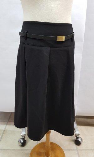 Esprit Jupe à plis noir