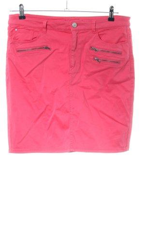 Esprit Spijkerrok roze casual uitstraling
