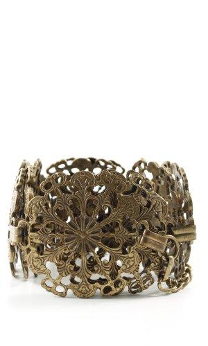 Esprit Cinturón de cadena color bronce estilo «business»