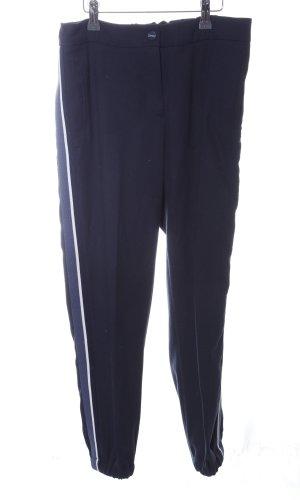 Esprit Stoffhose blau-weiß Casual-Look