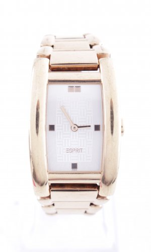 Esprit Watch With Metal Strap gold-colored business style