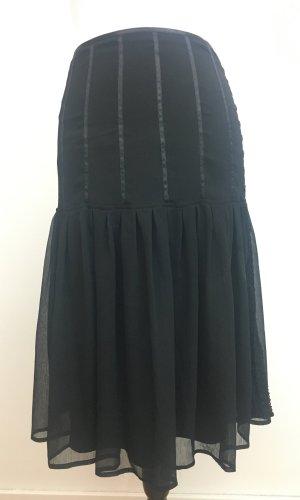 More & More Volanten rok zwart Polyester