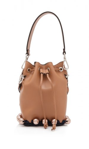 Fendi Calfskin Mon Tresor Mini Bag