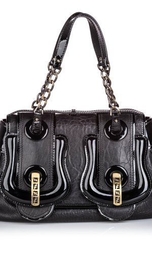 Fendi Leather B Bis Shoulder Bag