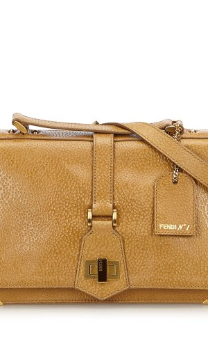 Fendi Leather Classico No. 1 Satchel