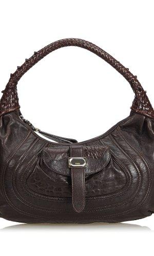 Fendi Leather Spy Shoulder Bag