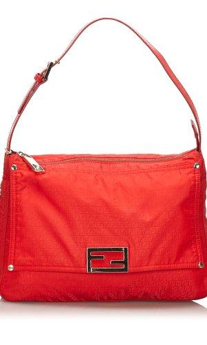 Fendi Micro Zucchino Nylon Shoulder Bag