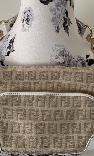 Fendi Off-white/beige Schultertasche