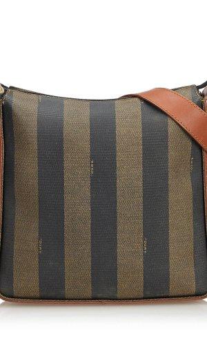 Fendi Pequin Shoulder Bag