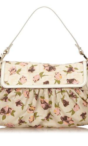 Fendi Printed Canvas Shoulder Bag