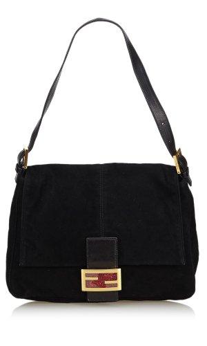 Fendi Suede Mamma Forever Shoulder Bag